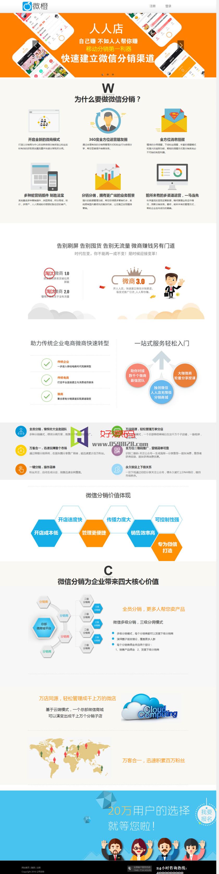 最新微橙人人店V3.3.6微信分销一键安装版|全解密开源版人人商城V2二次开发版
